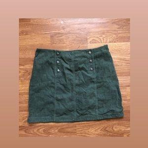 Hollister Olive Skirt